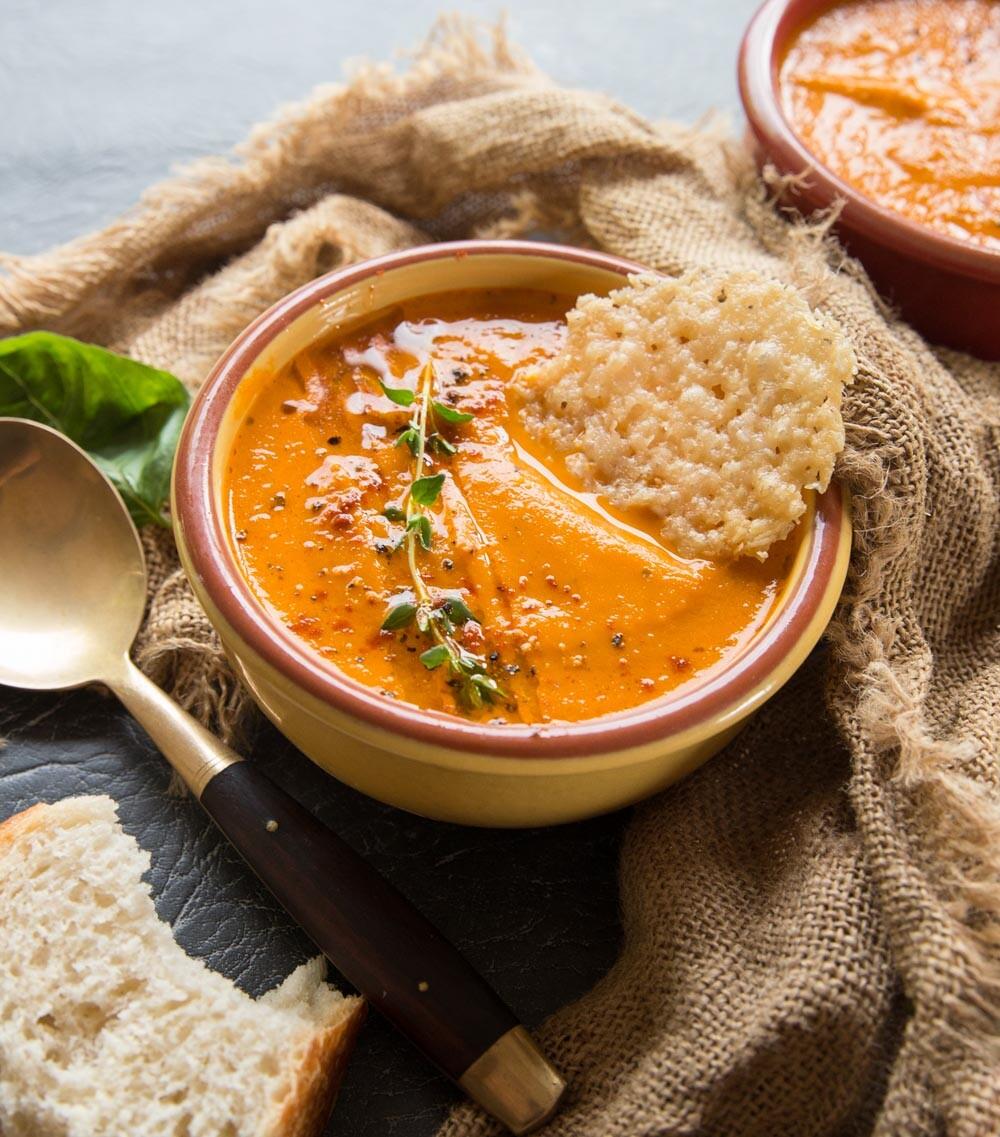 indische tomatensuppe wunderbar