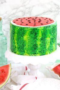 Wassermelonen Kuchen