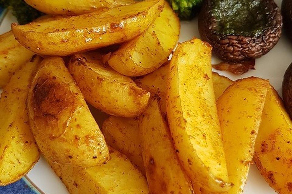 Kartoffelspalten Selber Machen Ofen