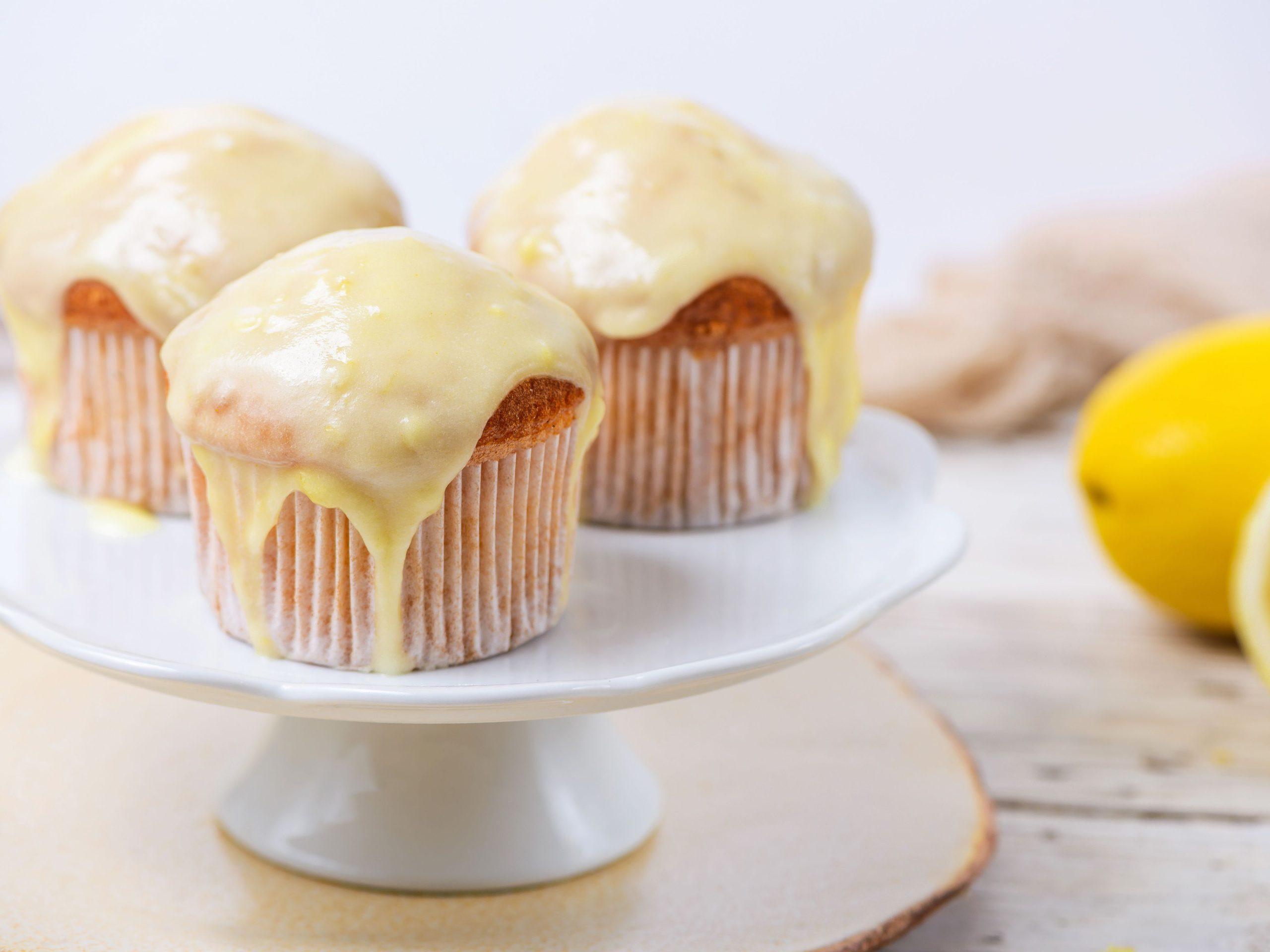 Zitronen Zuckerguss