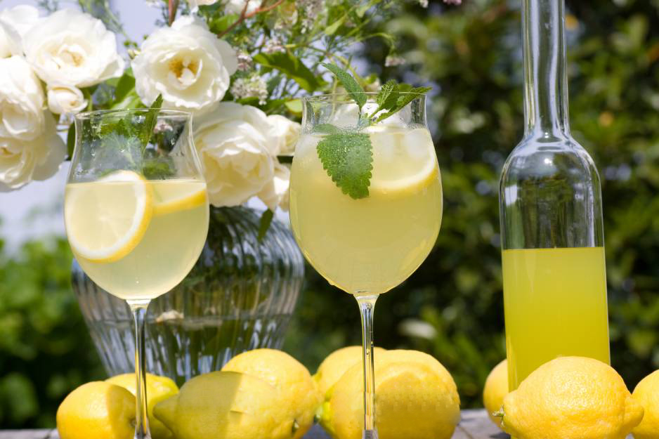 Amerikanische Zitronenlimonade