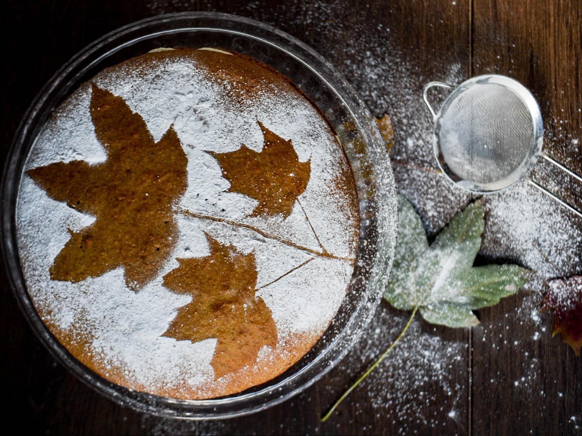Herbstliche Kuchen