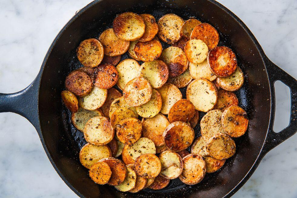 Original Omas Knusprige Bratkartoffeln
