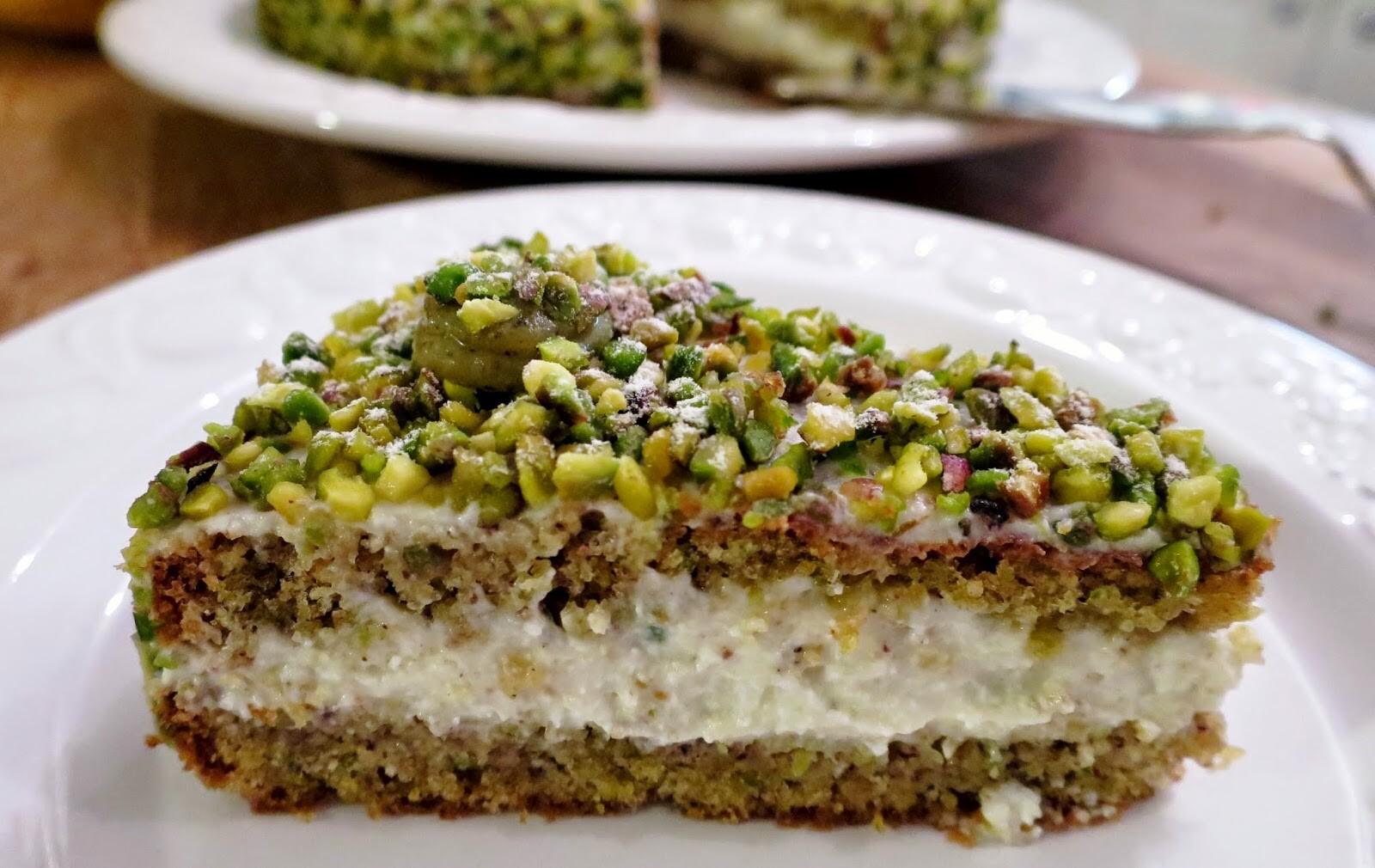 Original Ricotta Pistazien Kuchen