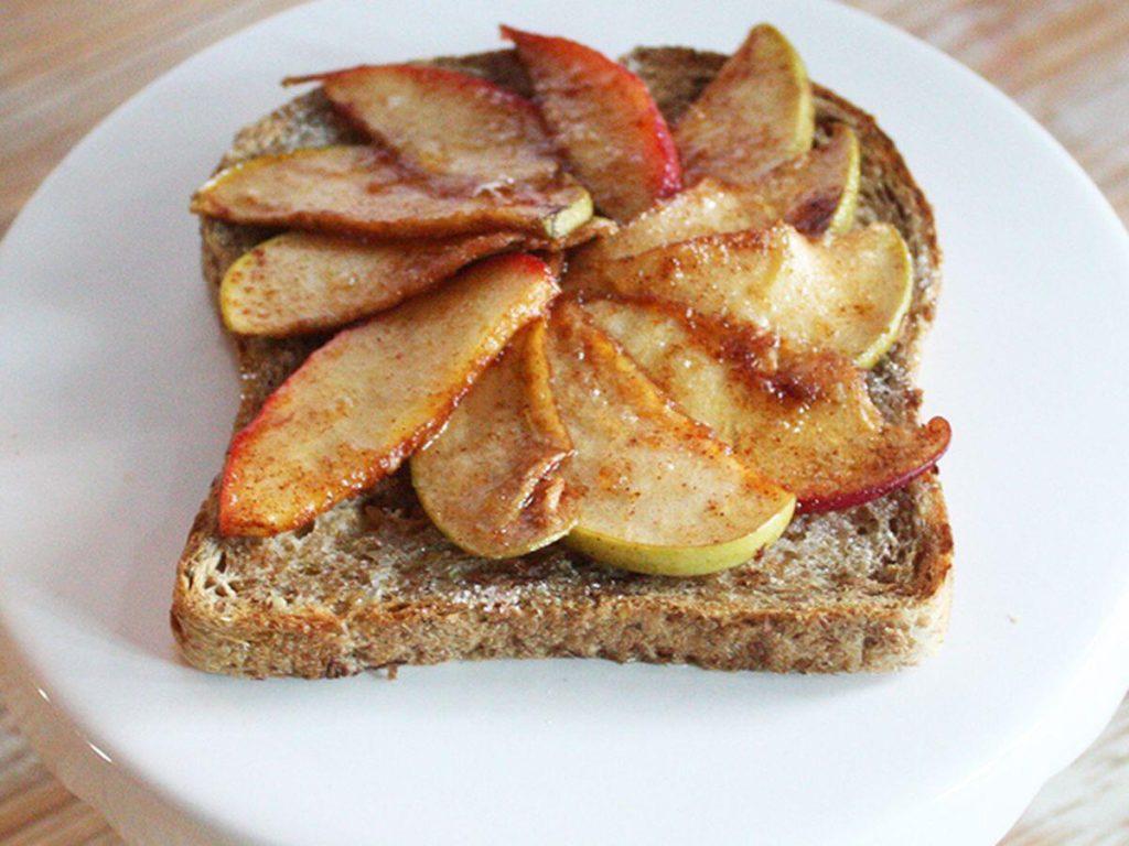 Toast Apfel Zimt