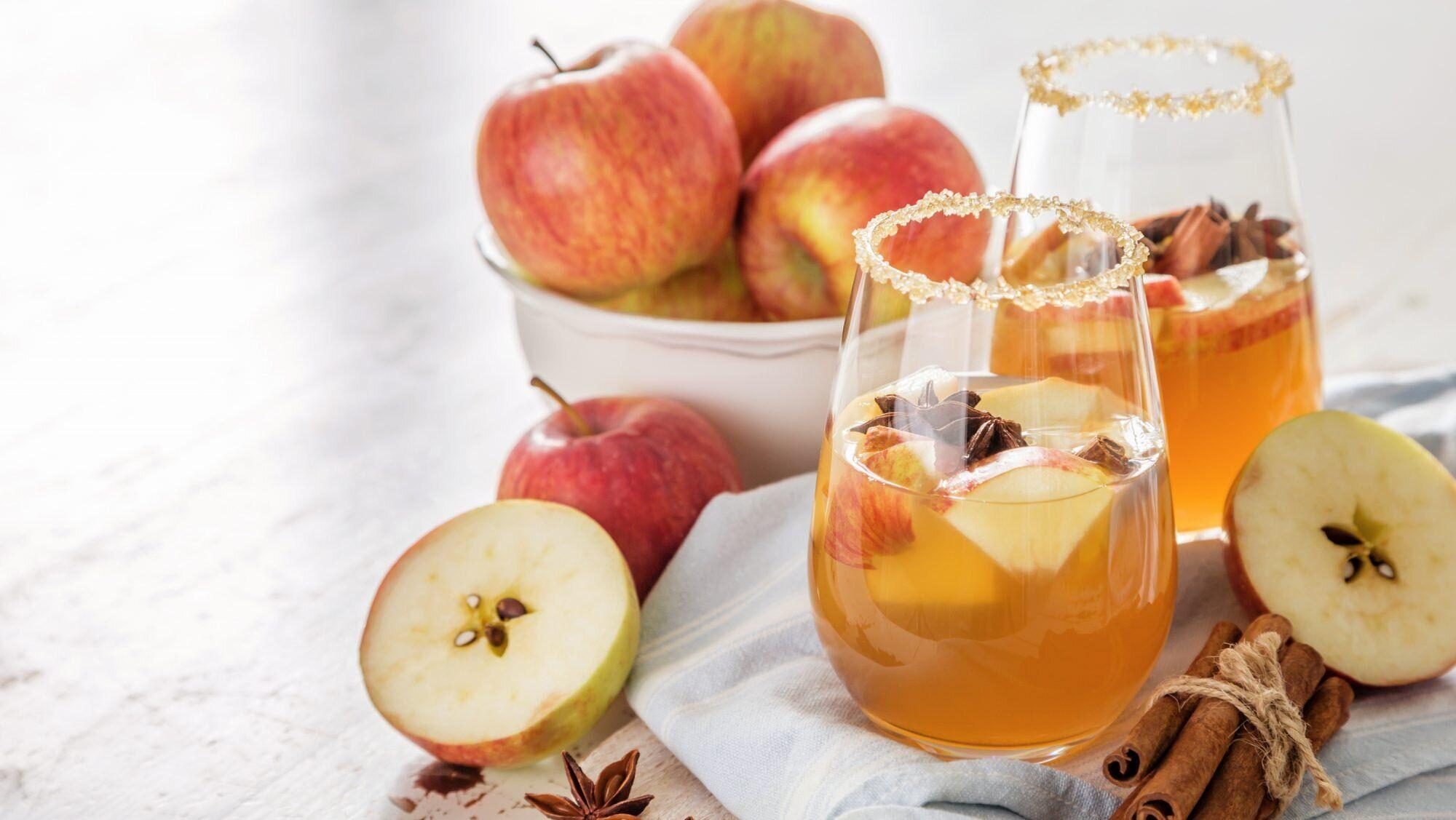 Apfel Amaretto Punsch