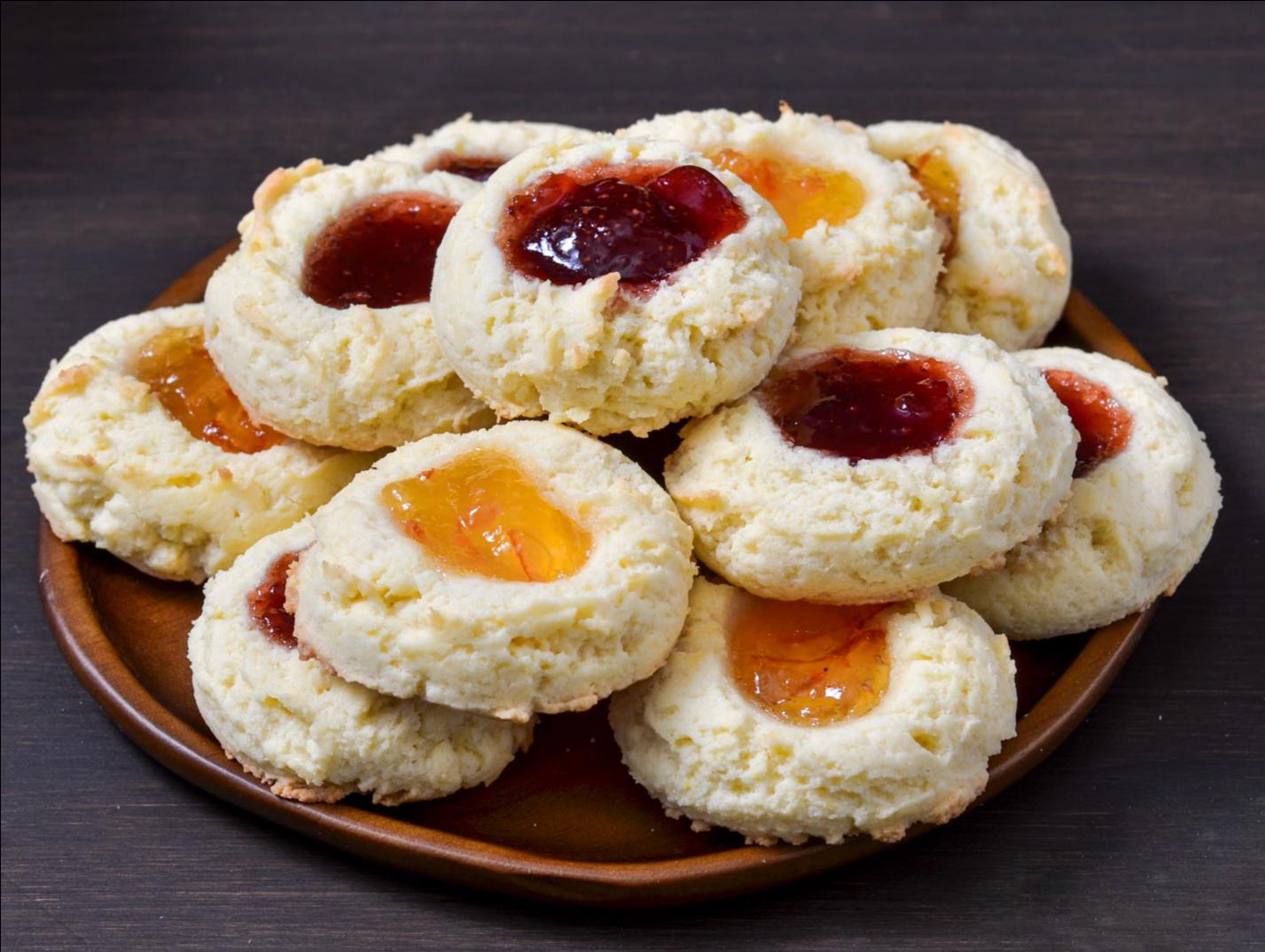 Marmeladen Kekse