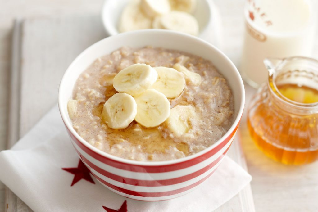 Bananen Porridge