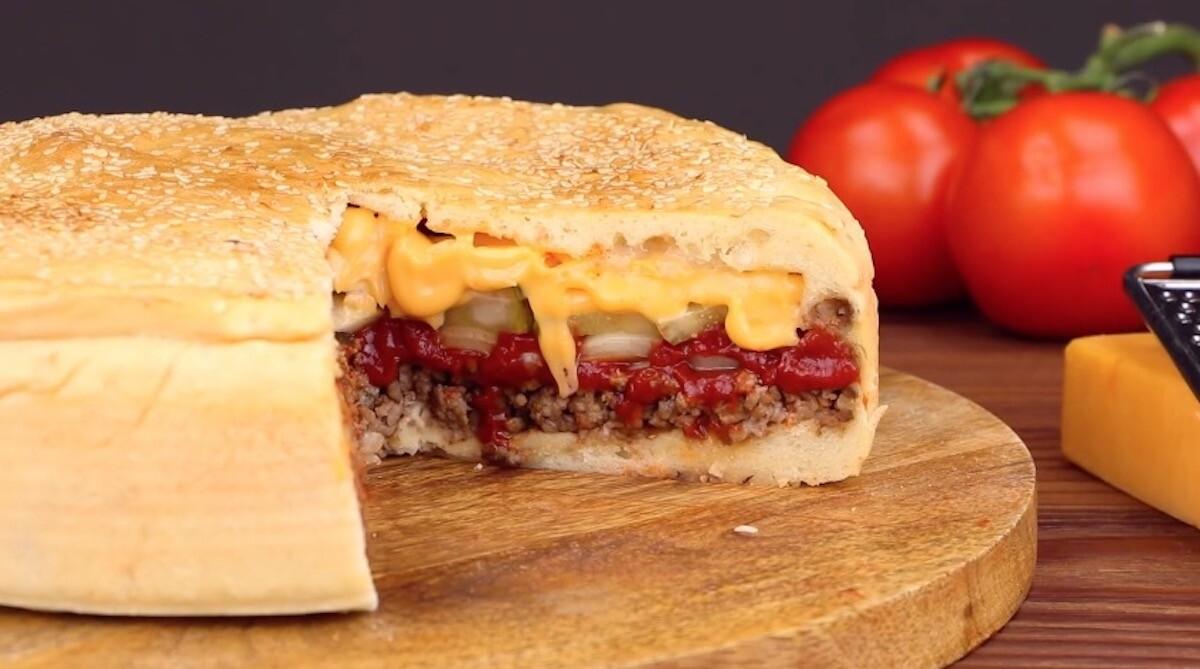 Cheeseburger Kuchen