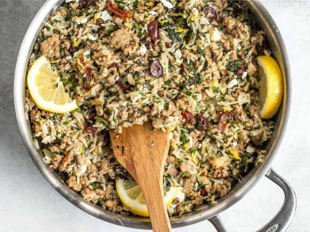 Griechische Reispfanne