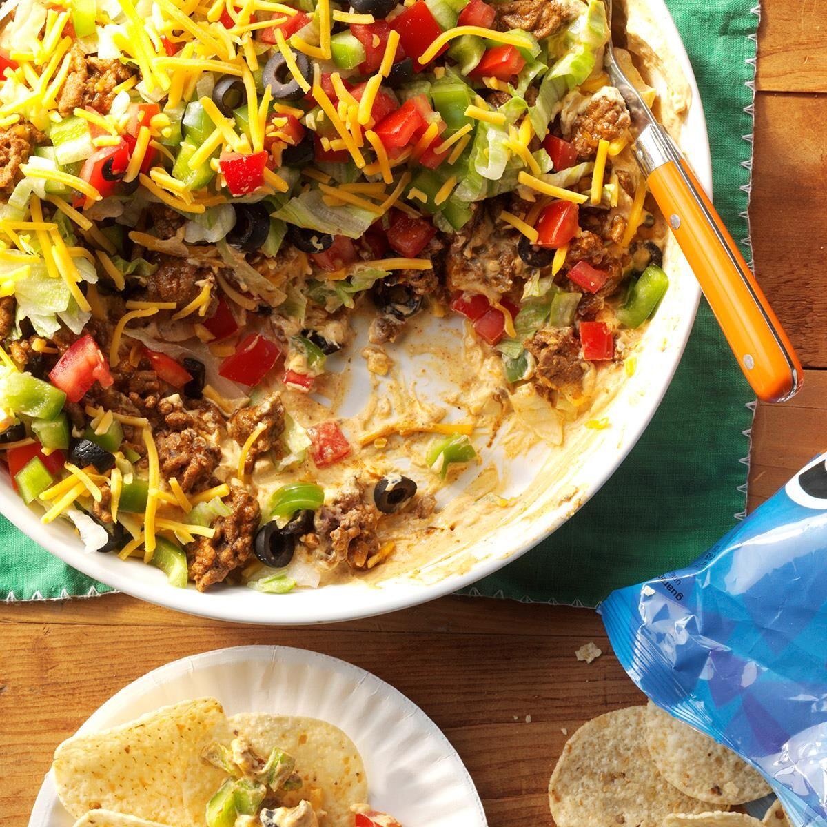 Mexikanischer Schichtsalat