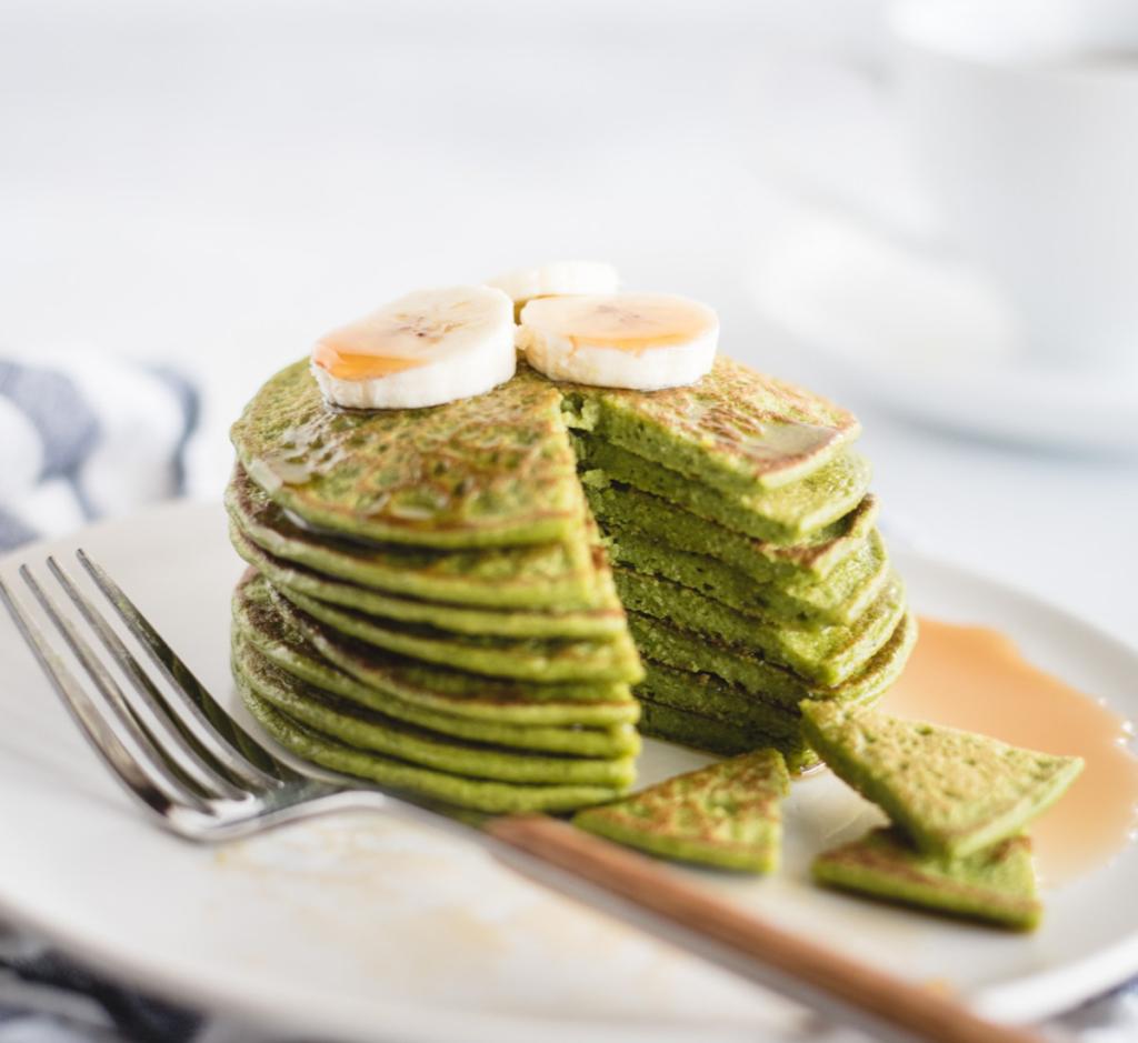 BLW Rezepte-Mais- und Spinatpfannkuchen