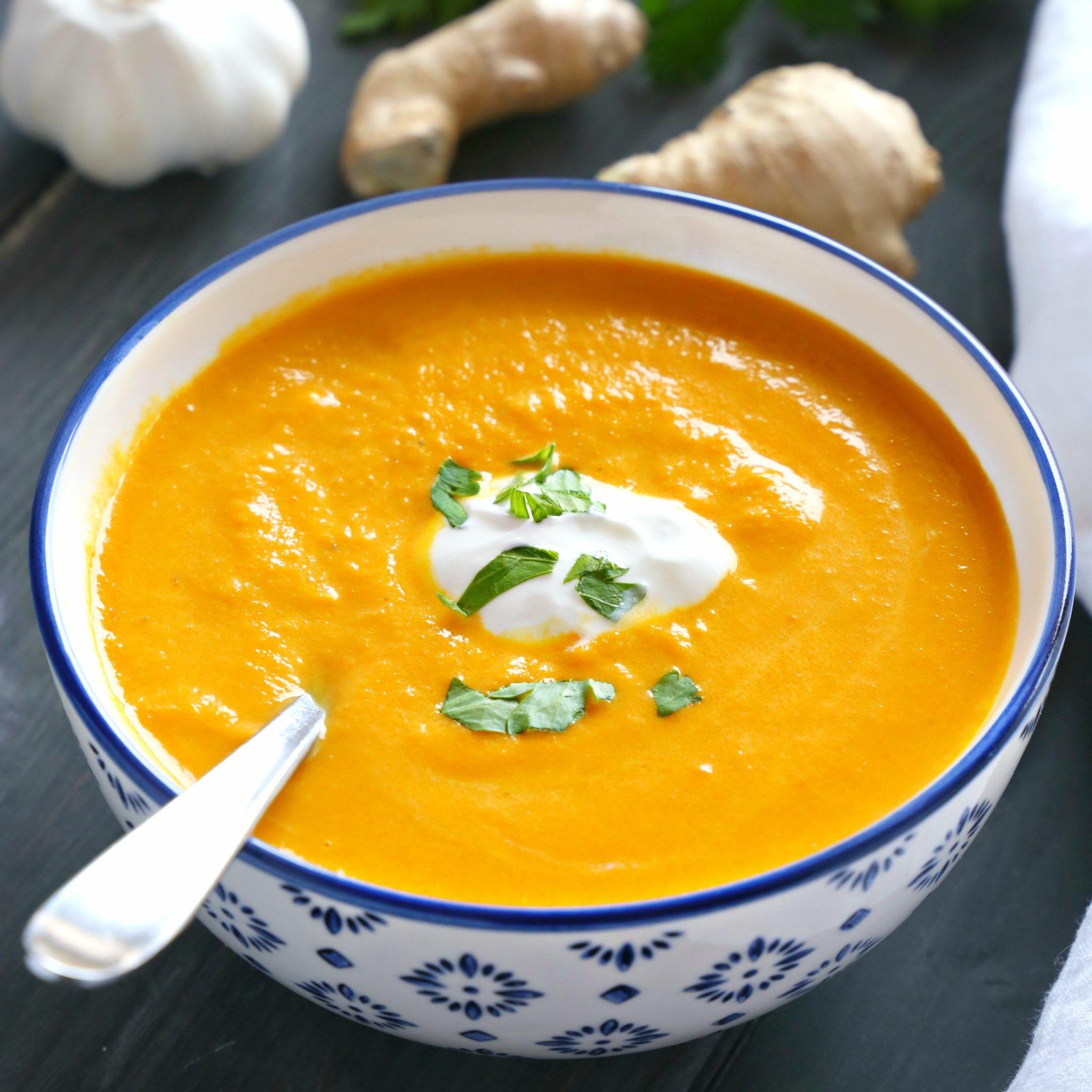 Möhren Ingwer Suppe