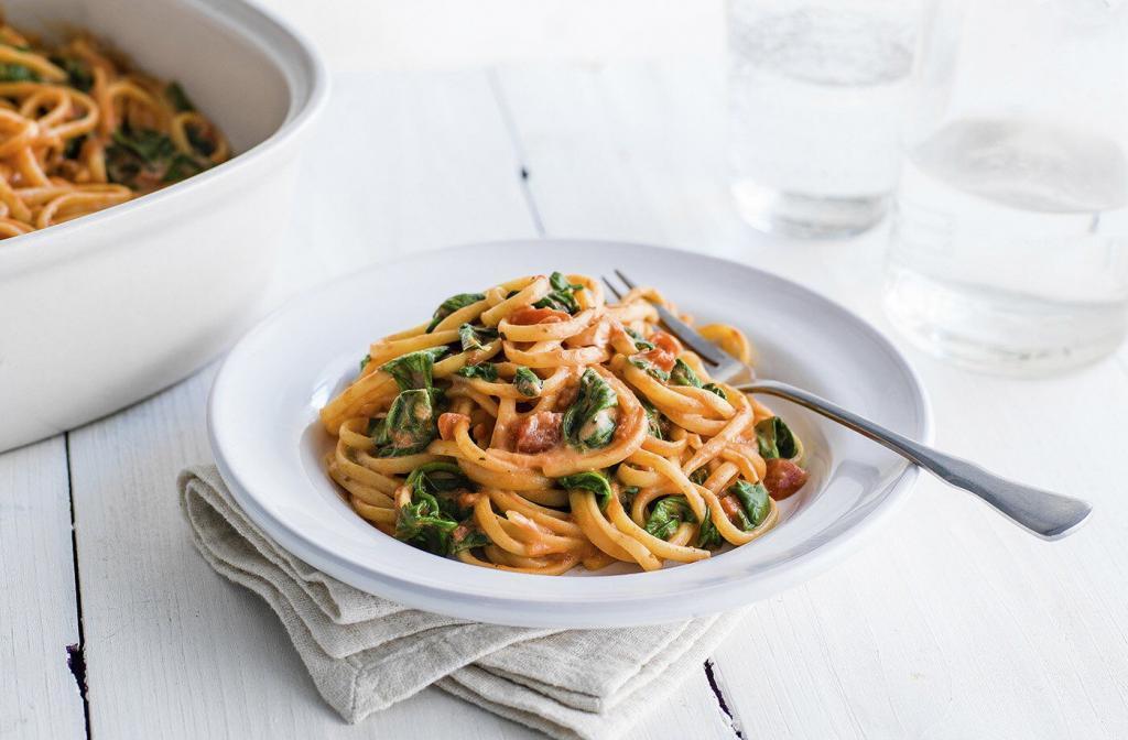 one pot pasta vegetarisch
