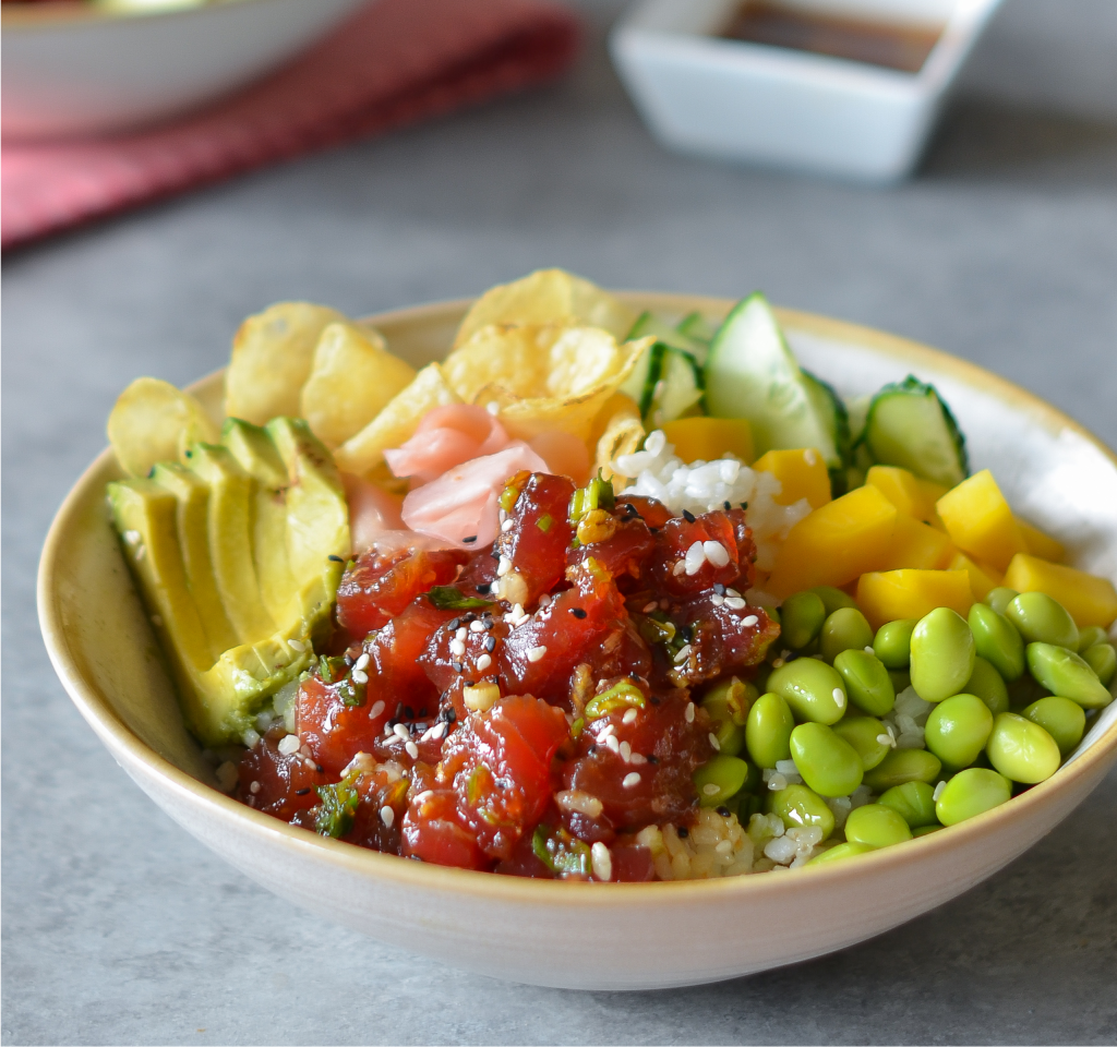 Thunfisch Poke Bowl
