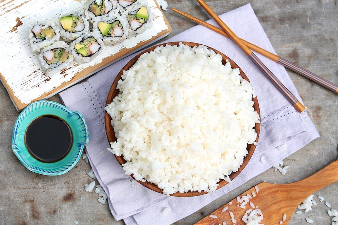 Sushi Reis Rezept