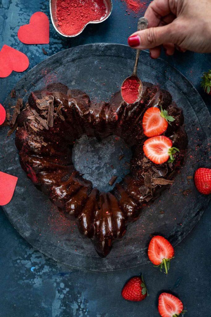 Valentinstag Backen