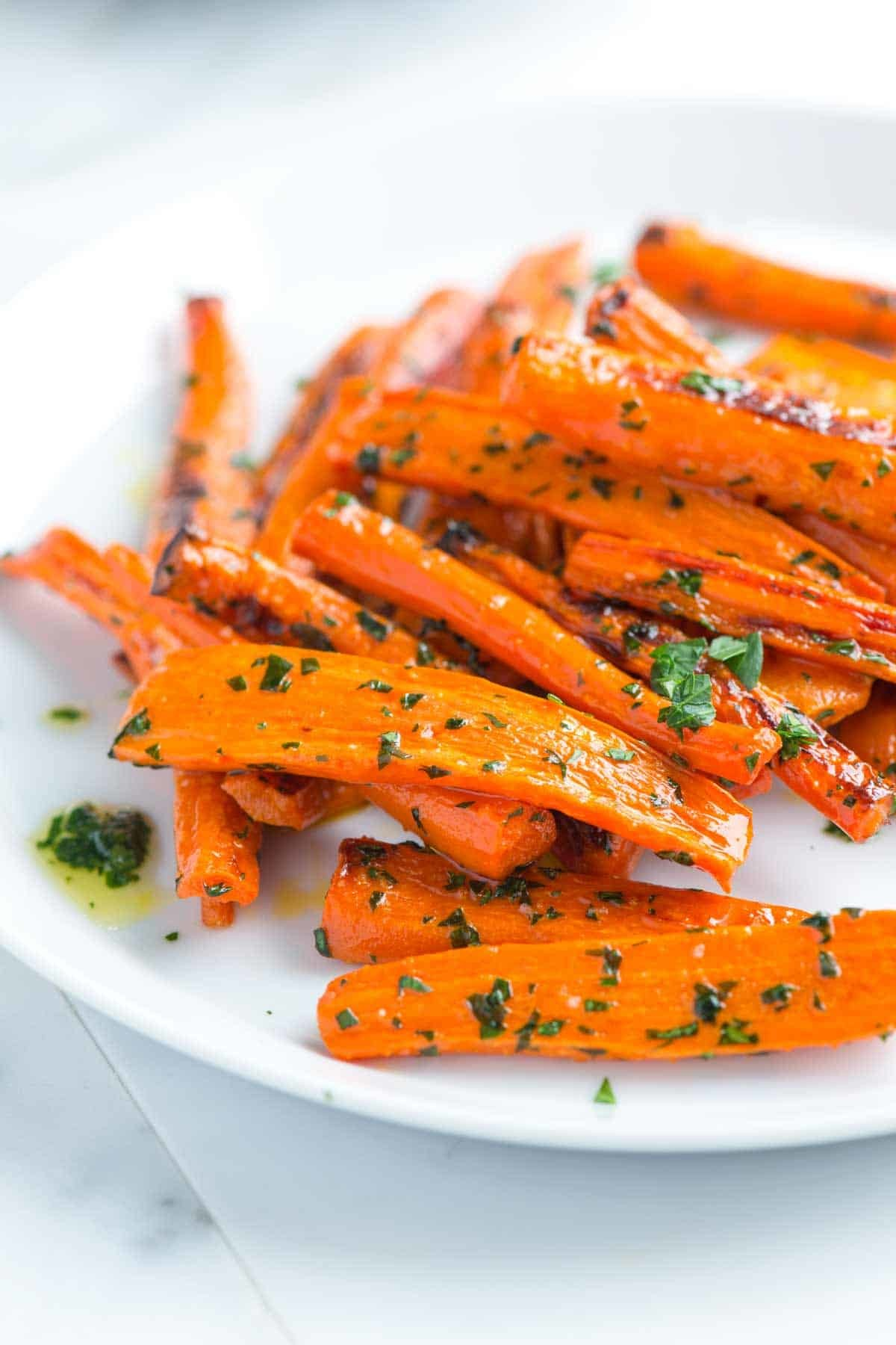 Karottengemüse Rezept