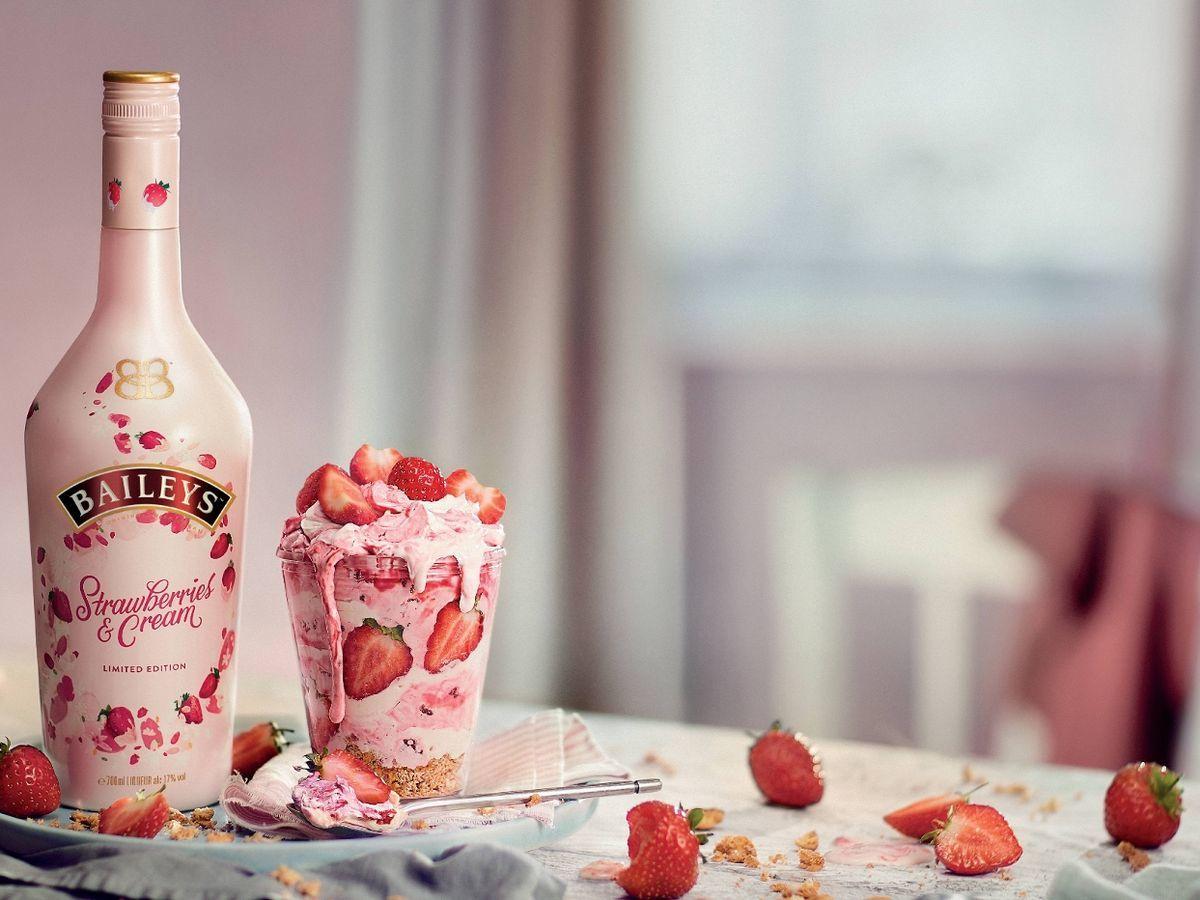 Baileys Erdbeer Dessert