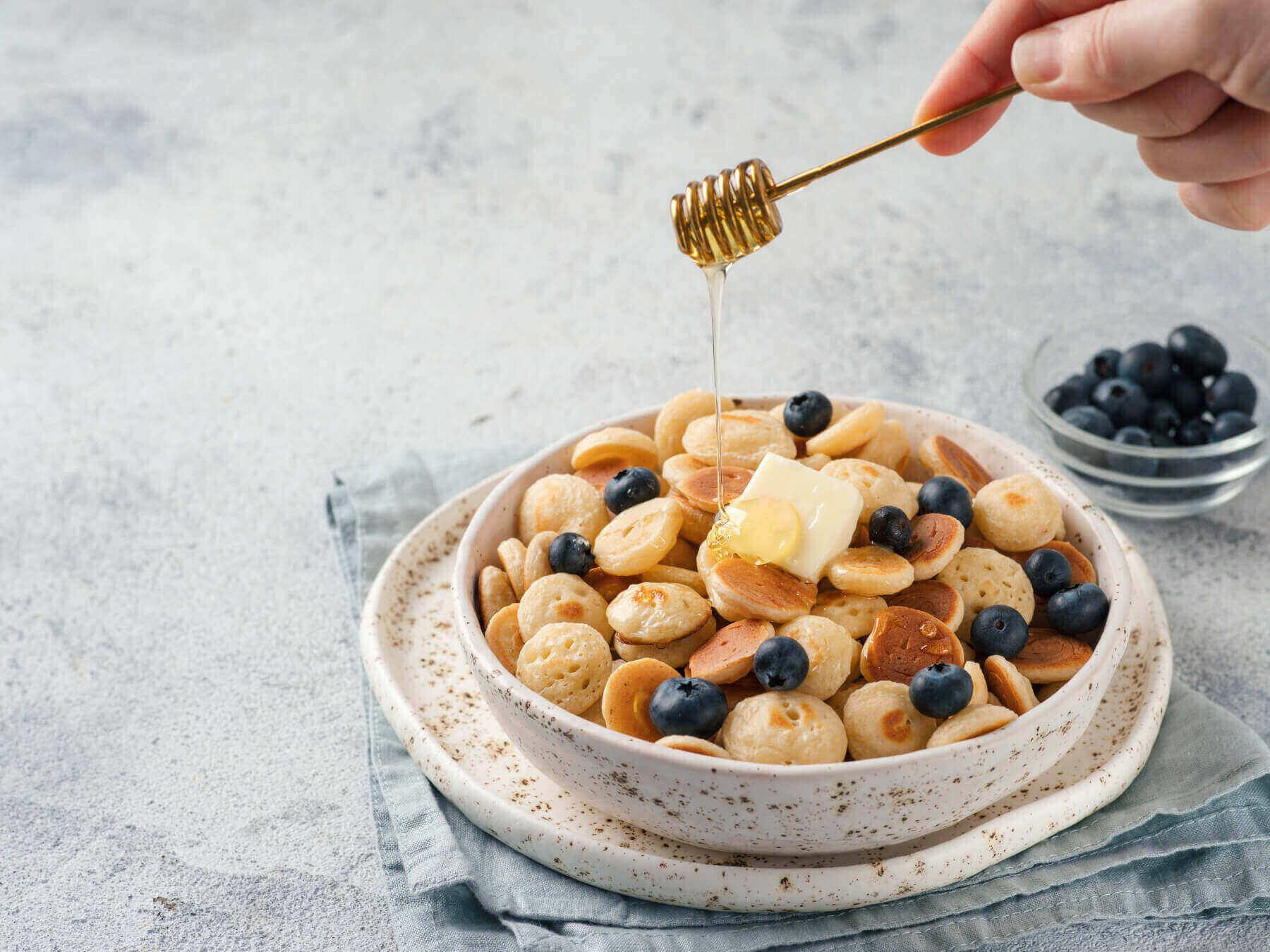 Mini Pancakes Rezept