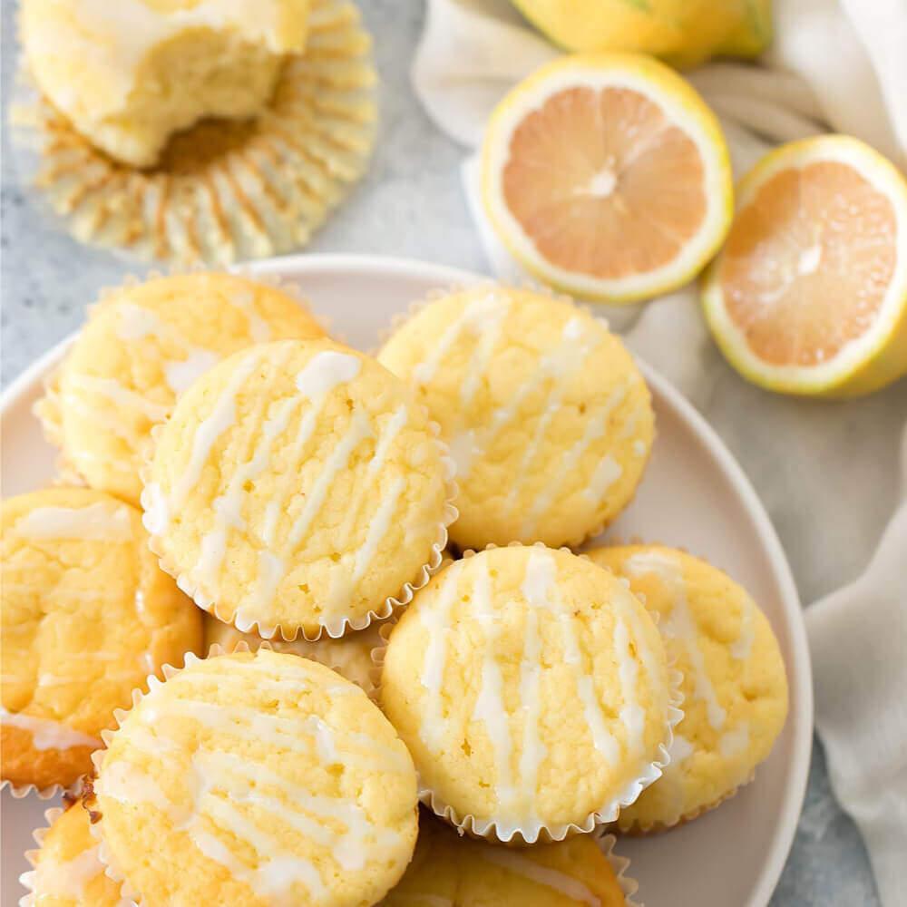 Zitronen Muffin